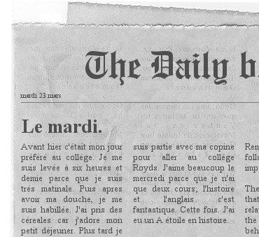 Mrs grist newspaper
