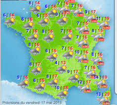 Image result for france weather map