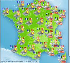 Image result for france weather map