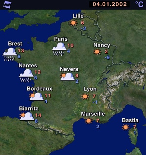 Map Of France Weather.French Weather Map Park Ideas